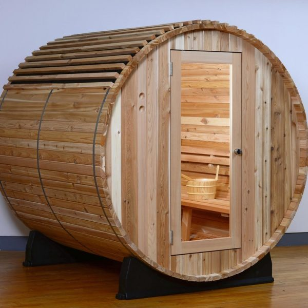 Barrel+Sauna+Roof+Cover